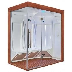 Sauna cu aburi HTS 195 pentru 3 persoane