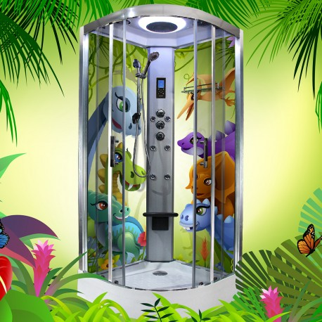 cabina hidromasaj pentru copii HTS 90 Dino