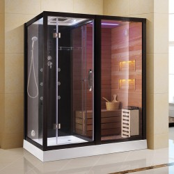 Sauna combinata HTS 180 dreapta