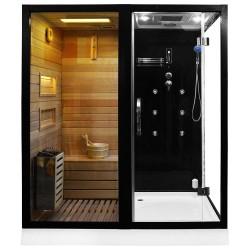 sauna combinata HTS 180 stanga